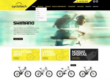 loja virtual de bicicletas