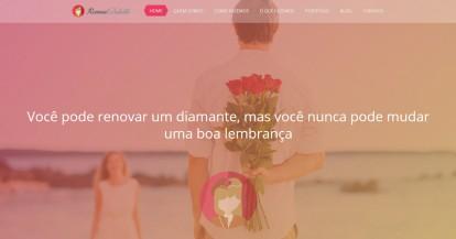 desenvolvimento website casamentos