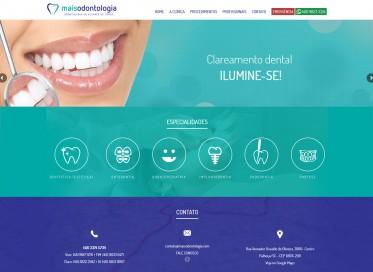 desenvolvimento website clínica odontológica