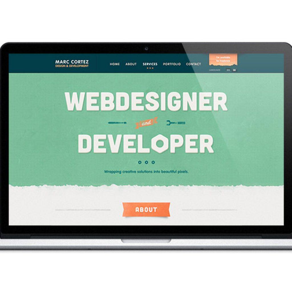 desenvolvimento web sites