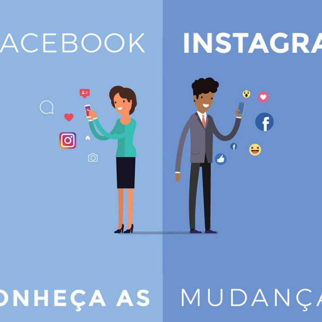 novidades facebook e instagram