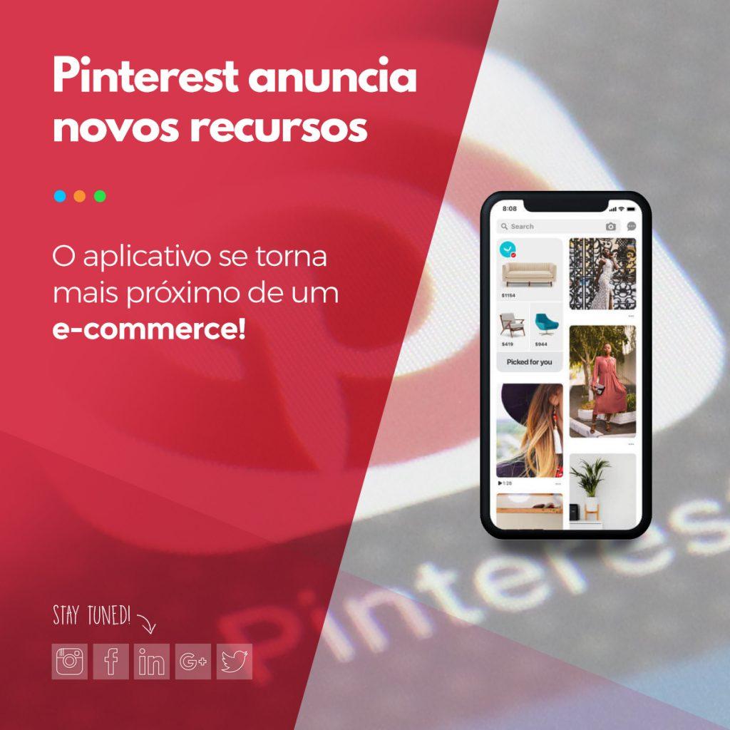 novidades pinterest marketing digital