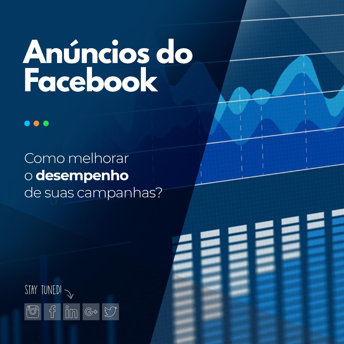 Desempenho anúncios facebook