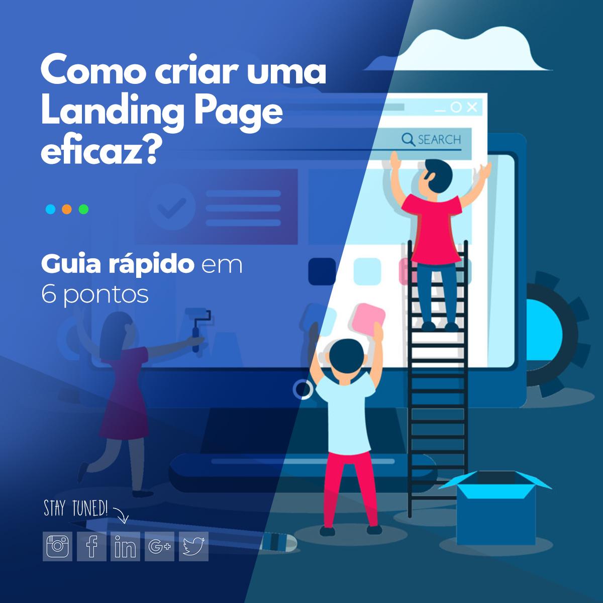 Como criar uma Landing Page