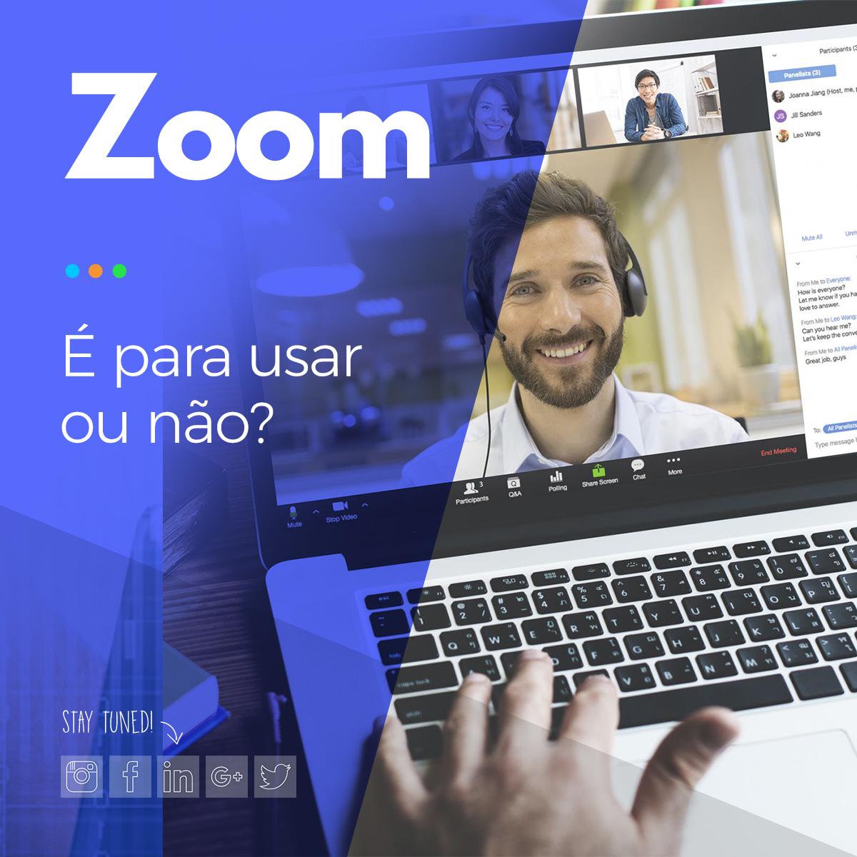 zoom videoconferências